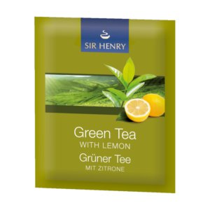 Sir Henry Zelený čaj s citronem